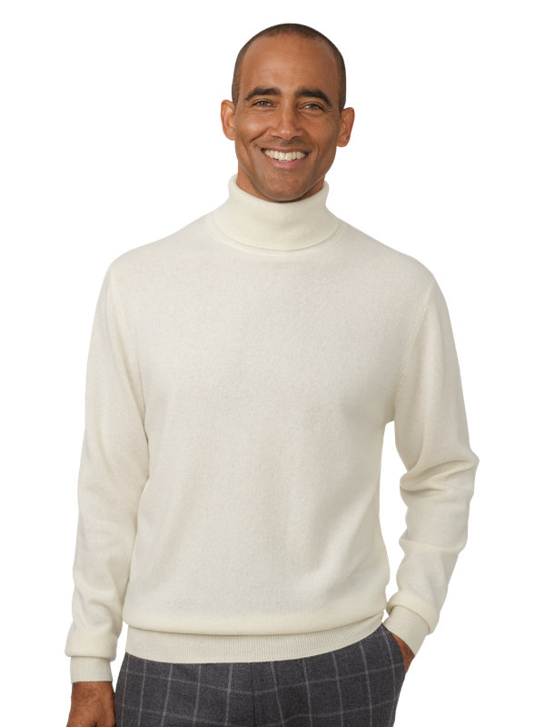 100% Cashmere Turtleneck