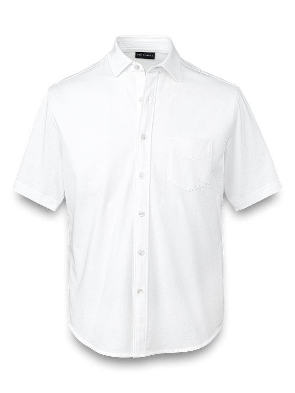 Supima Cotton Button Front Polo
