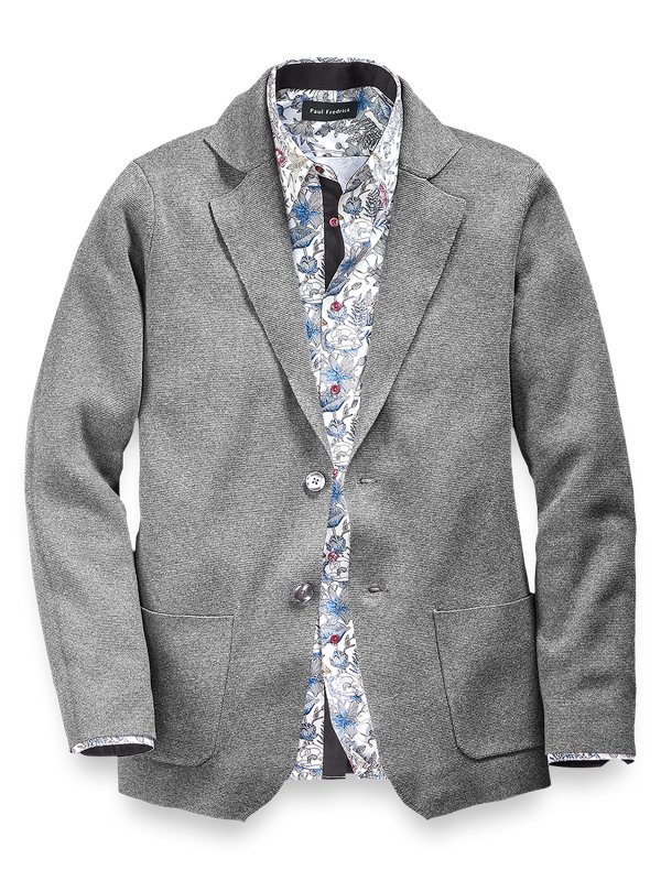 Cotton Knit Jacket