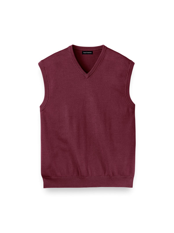 Supima Cotton Vest