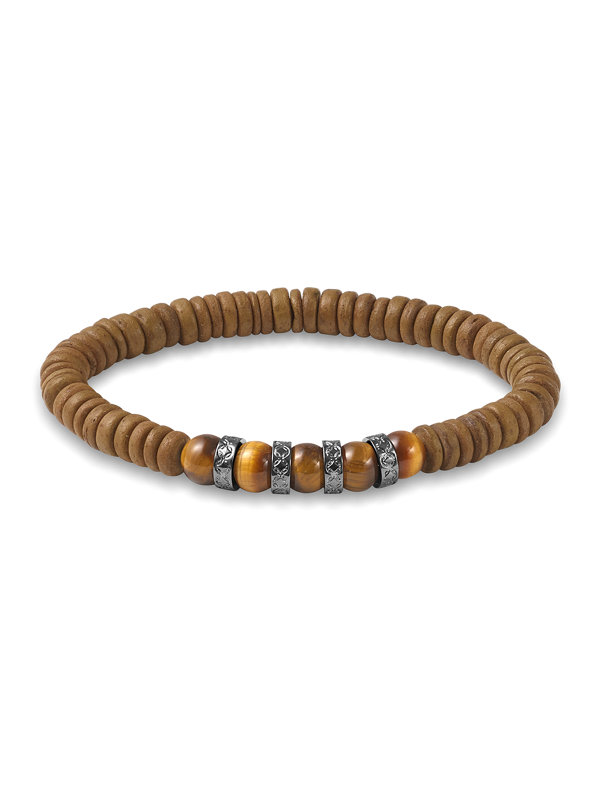 Beaded Shell Bracelet