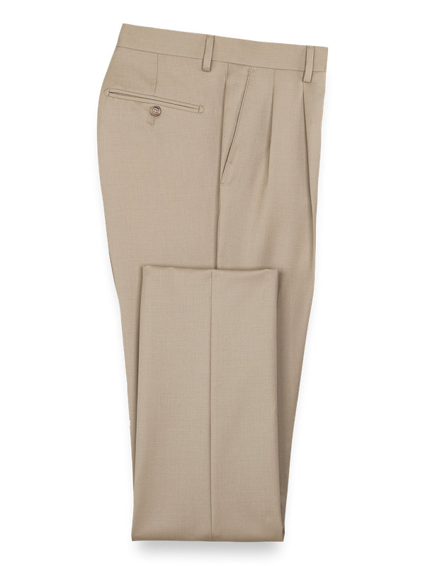 Tailored Fit Wool Gabardine Pant