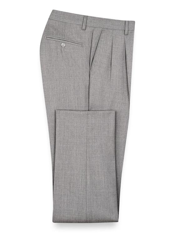 Tailored Fit Wool Gabardine Pant