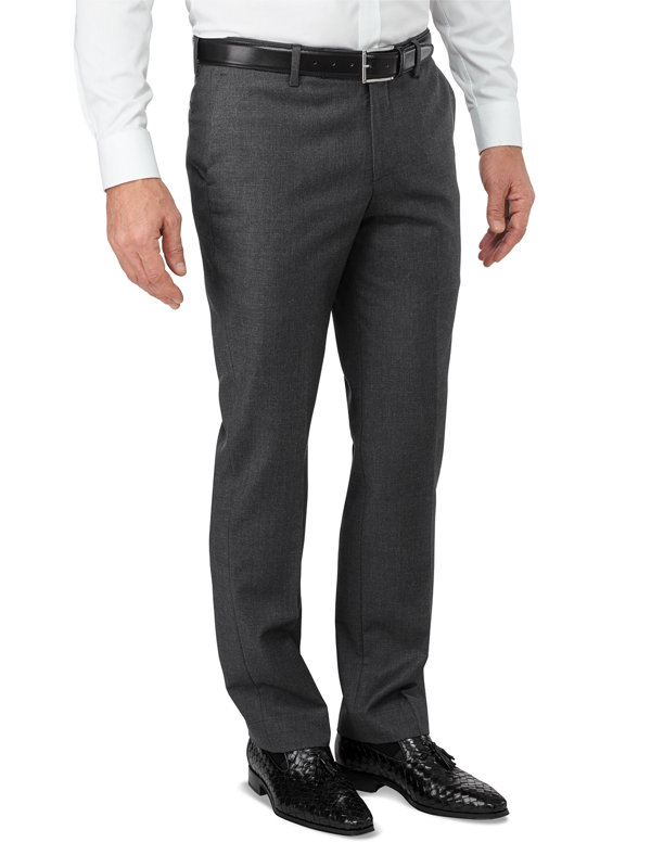 Italian Wool Flat Front Pant