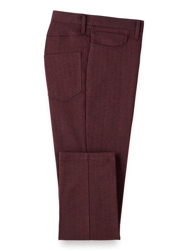 Cotton Herringbone Five Pocket Pants