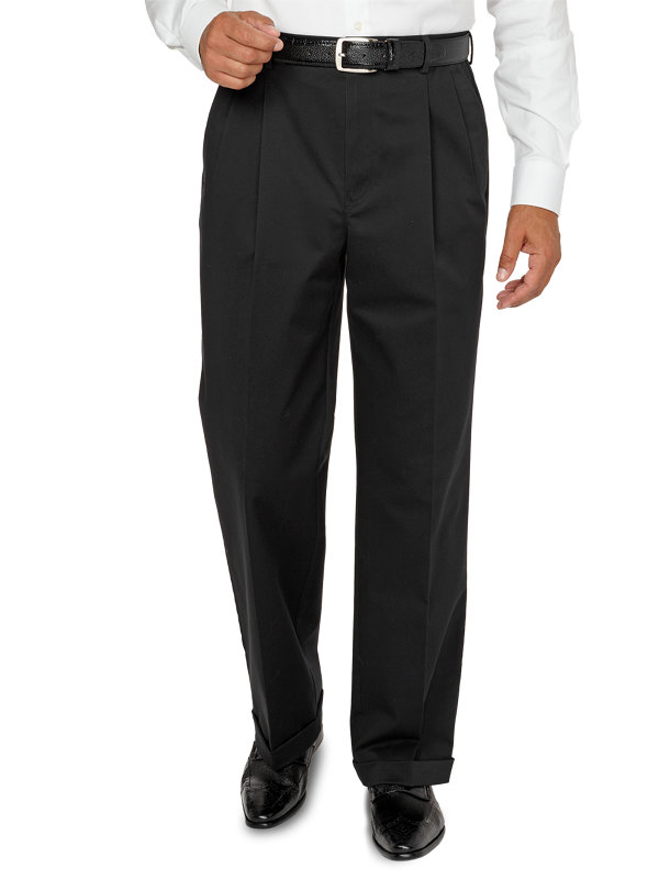Tailored Fit Non-Iron Impeccable Pleated Pant