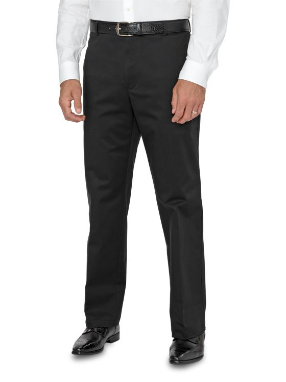 Tailored Fit Non-Iron Impeccable Flat Front Pant