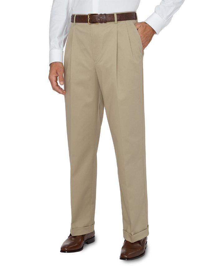 Non-Iron Impeccable Pleated Pant