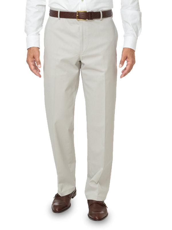 Non-Iron Impeccable Flat Front Pant