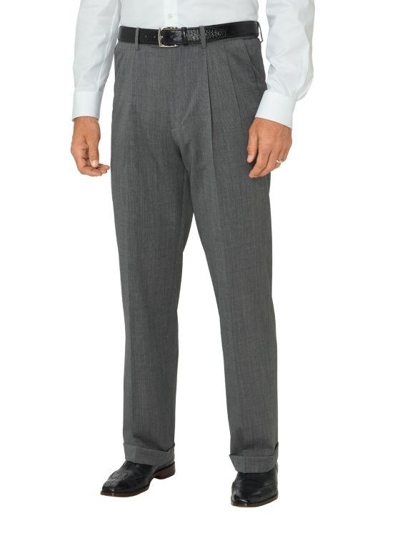 Super 120's Wool Pleated Pants