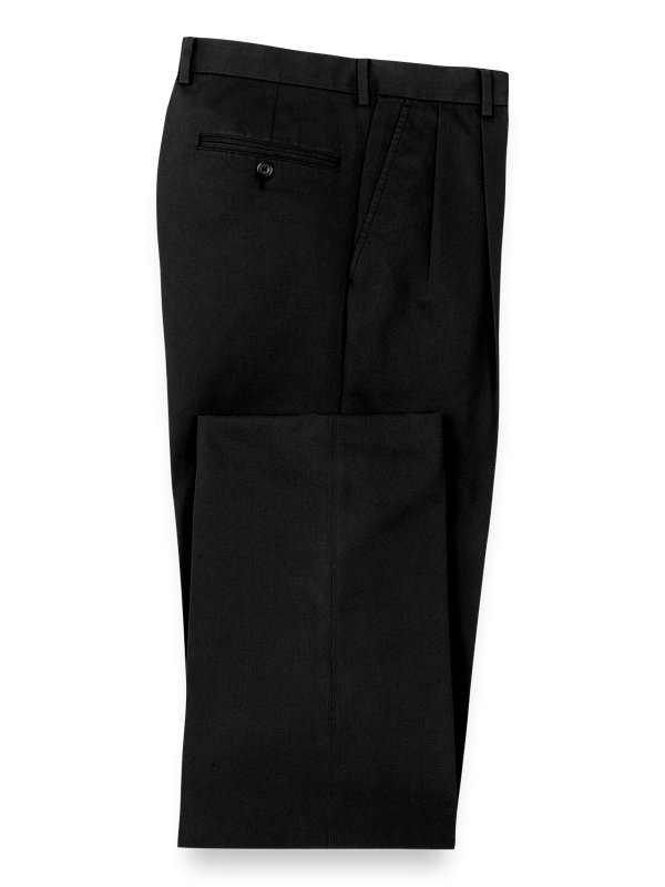 Classic Fit Non-iron Chino Pleated Pant