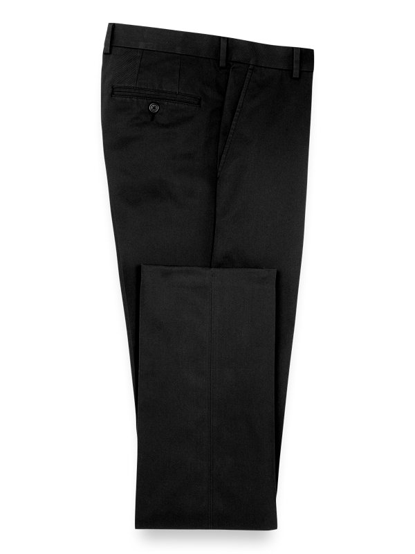 Non Iron Chino Flat Front Pants