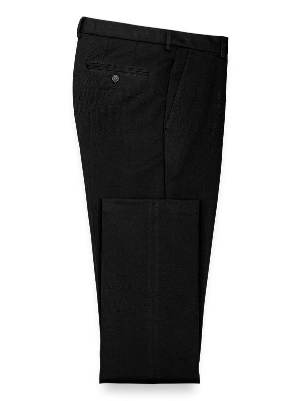 Tailored Fit Impeccable Chino Flat Front Pant