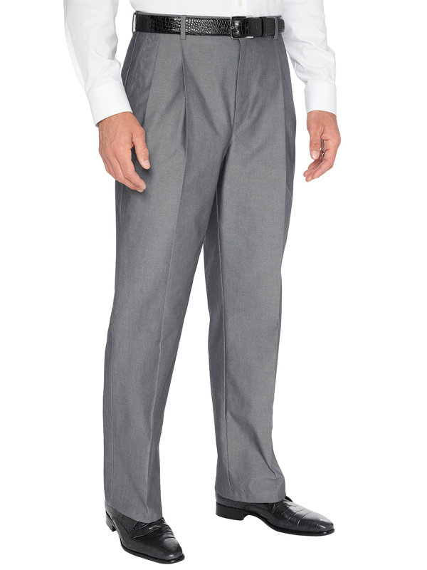 Non-Iron Supima Dress Chino Pleated Pants