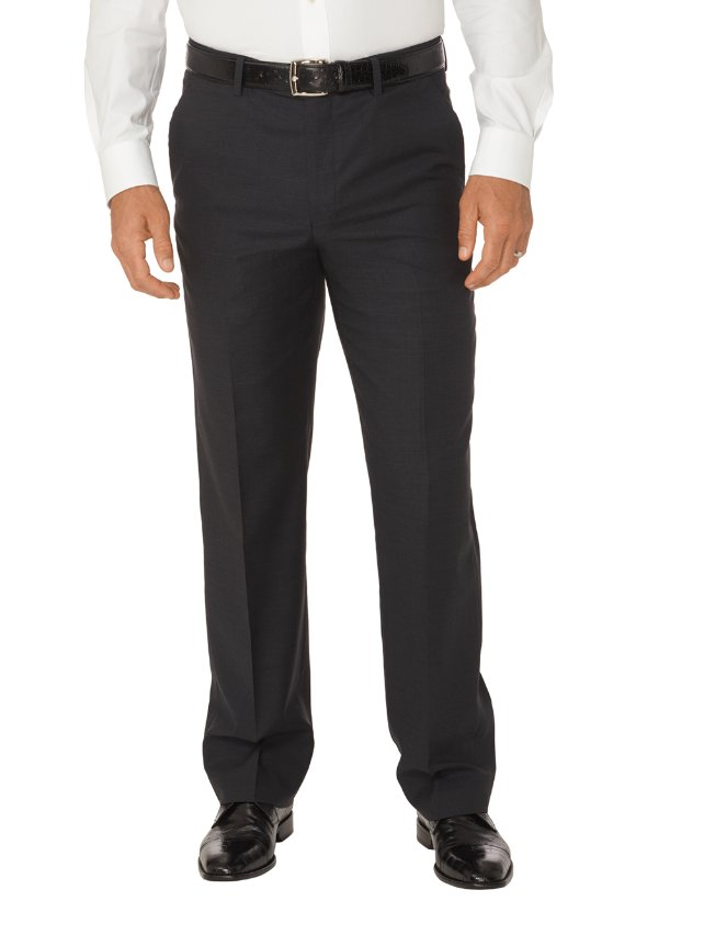 Tailored Fit Impeccable Travel Flat Front Pants