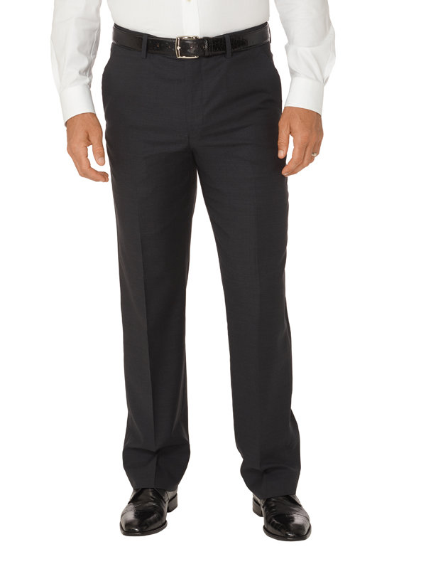 Tailored Fit Impeccable Flat Front Travel Pant