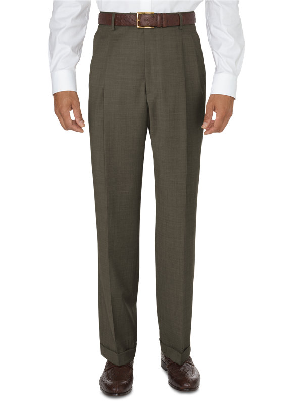 Classic Fit Impeccable Dress Pleated Pant