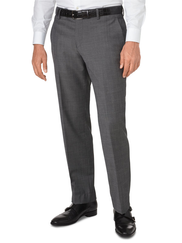 Tailored Fit Impeccable Dress Flat Front Pant