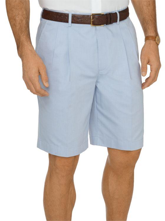 Non-Iron Supima Dress Chino Pleated Shorts