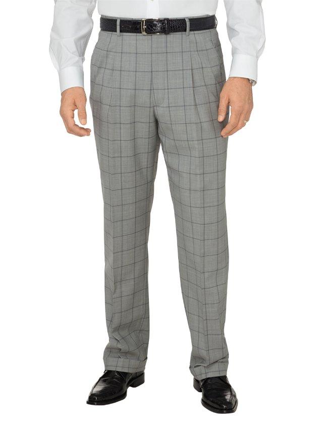 Italian Ultimate Performance Wool Pleated Pants