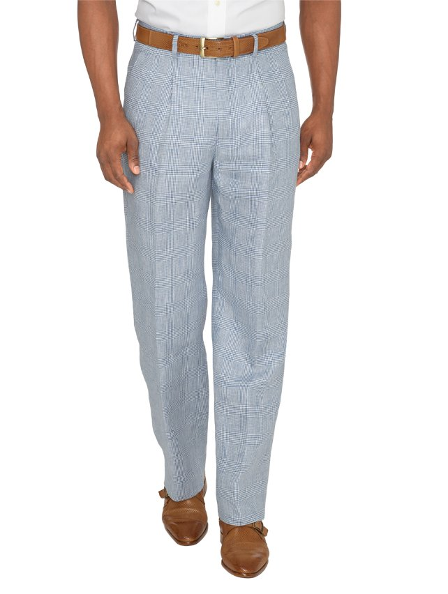 Linen Patterned Pants
