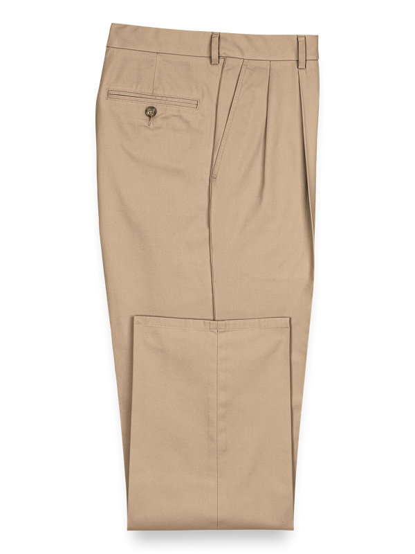 Lightweight Impeccable Chino Pleated Pants