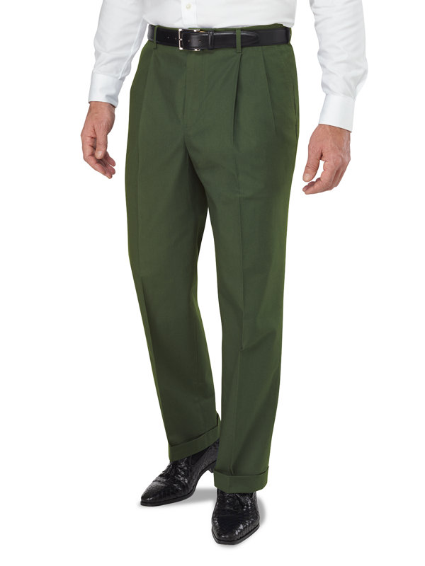 Lightweight Impeccable Chino Pleated Pant