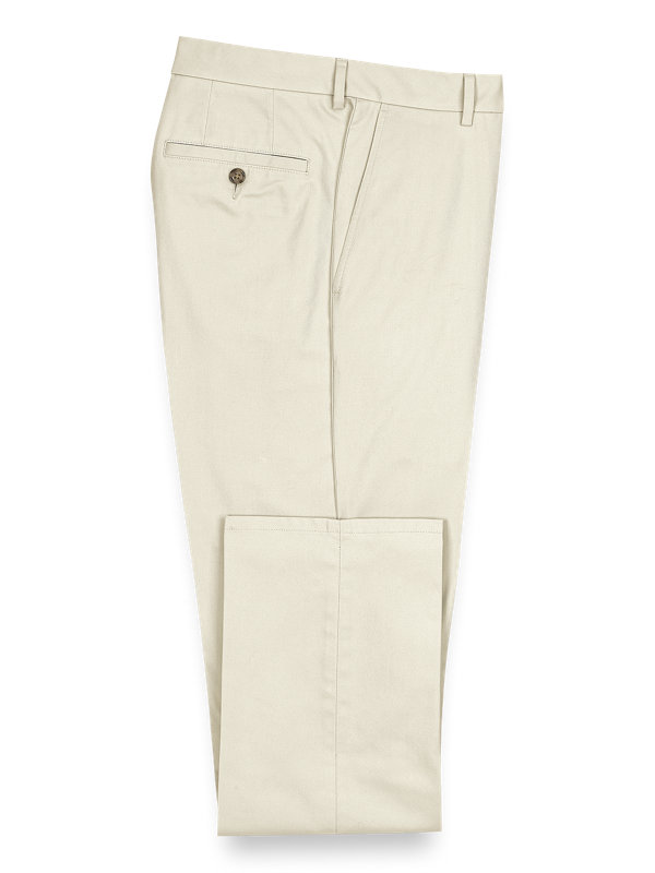 Lightweight Impeccable Chino Flat Front Pants