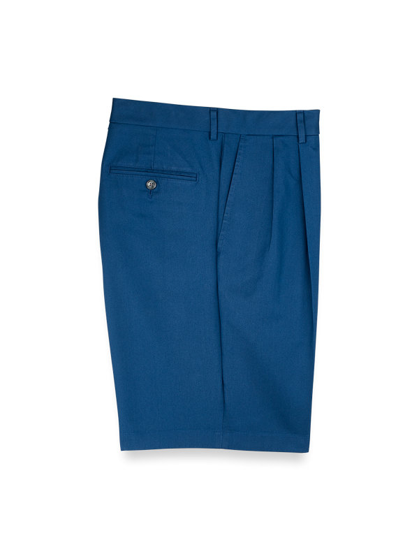 Pleated Lightweight Impeccable Shorts