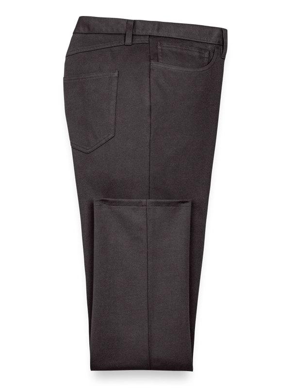 Cotton Knit Five Pocket Pants