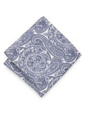 Silk Paisley Pocket Square