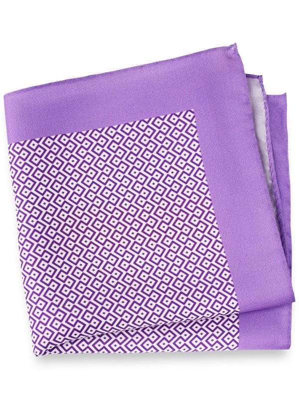 Medallion Silk Pocket Square