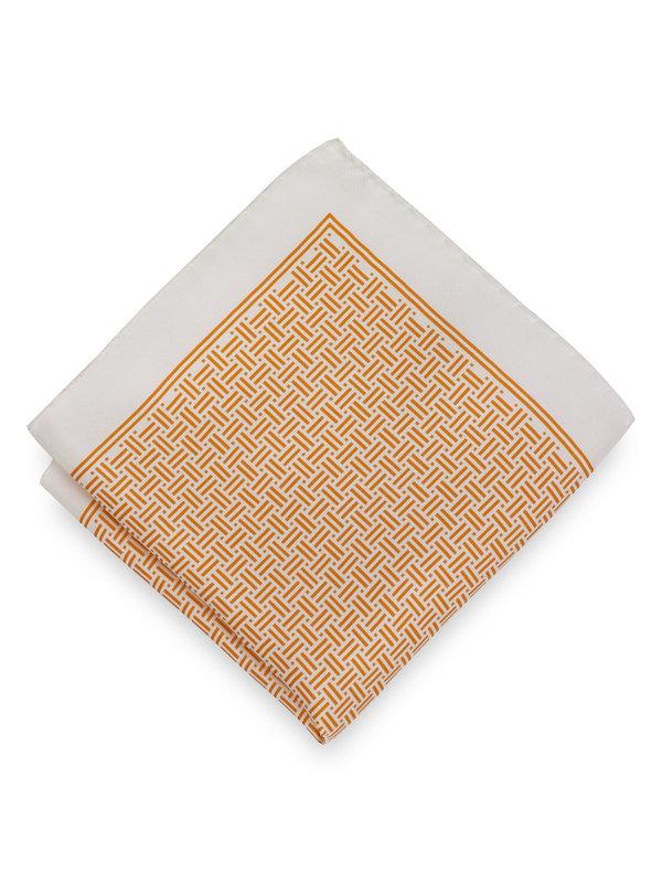 Basketweave Pocket Square