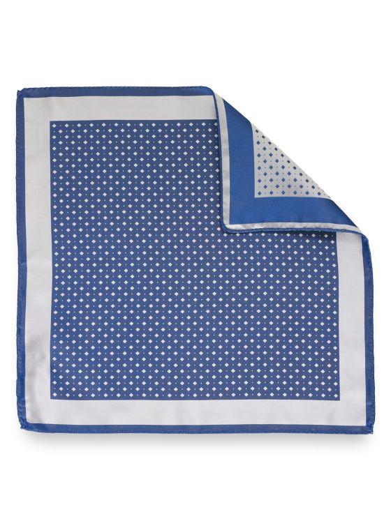 Mini Square Woven Silk Pocket Square