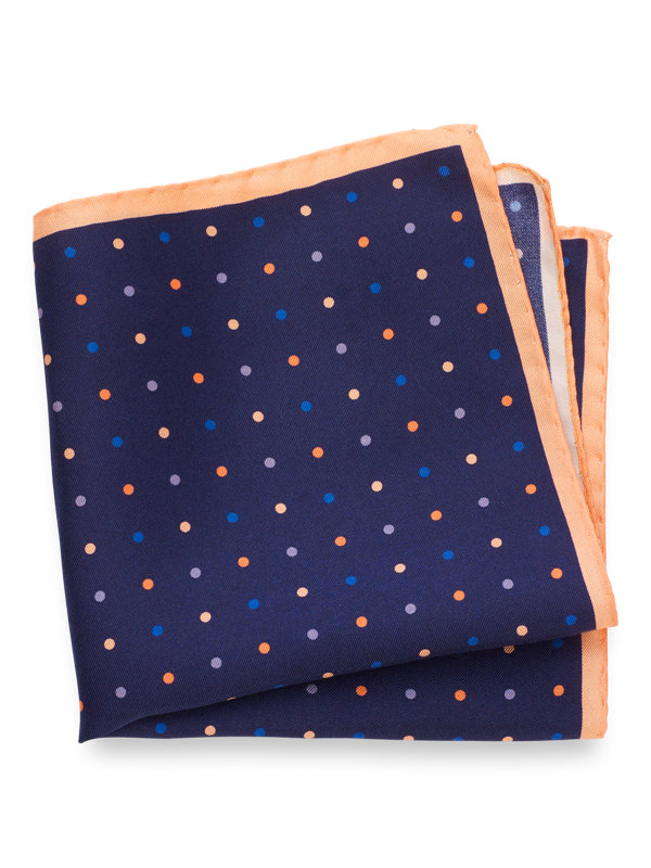 Silk Dots Pocket Square