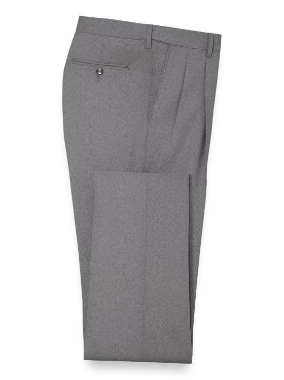 Essential Wool Pleated Suit Pant