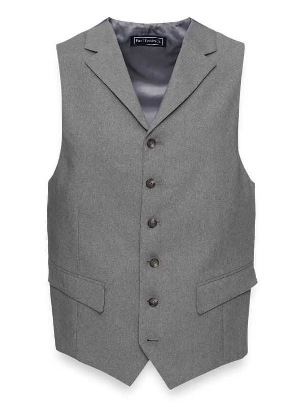 Classic Fit Essential Wool Suit Vest