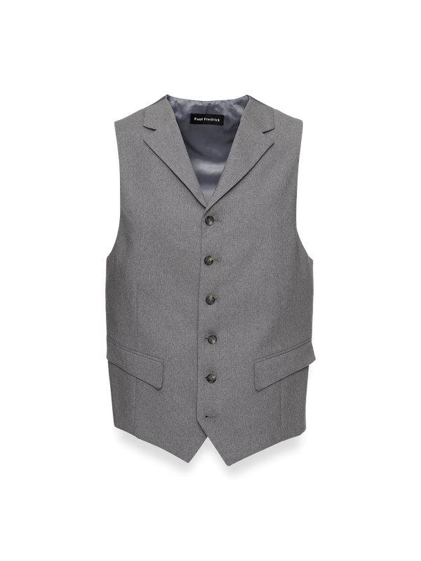 Classic Fit Essential Wool Suit Vest