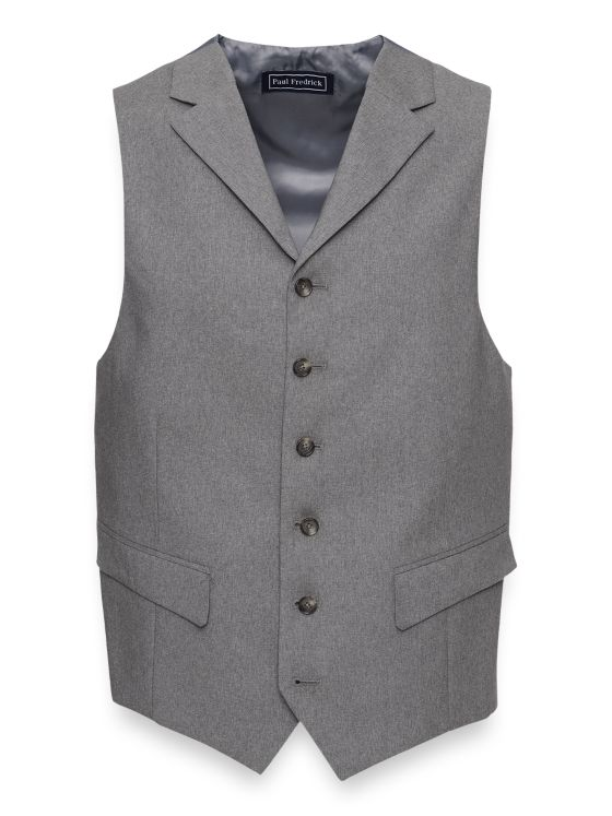Essential Wool Suit Vest