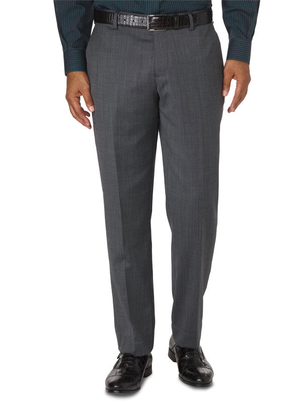 Tailored Fit Impeccable Flat Front Pant