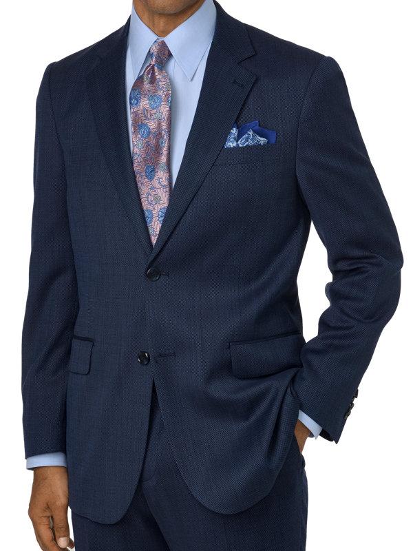 Tailored Fit Impeccable Notch Lapel Suit Jacket