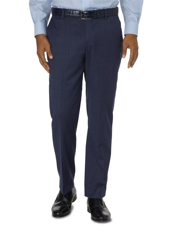 Tailored Fit Impeccable Flat Front Suit Pant