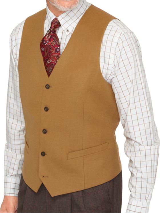 Super 100's Wool Vest