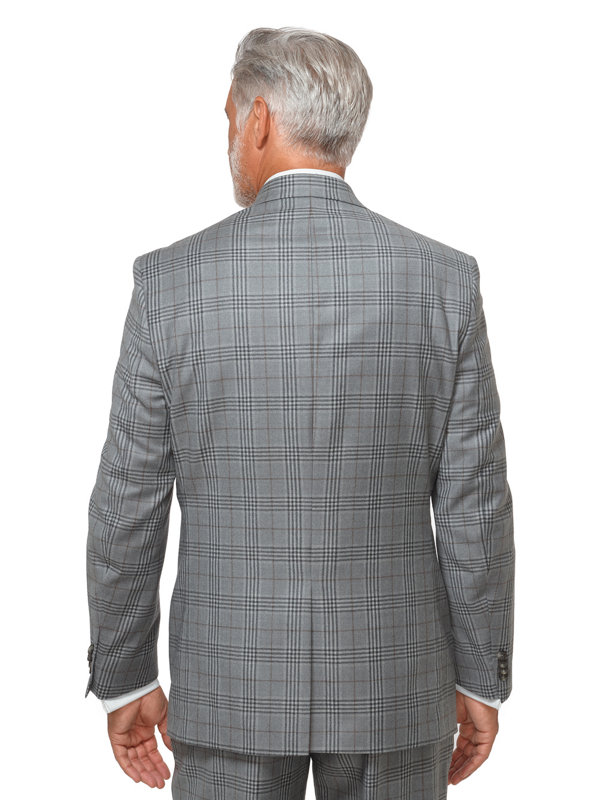 Wool Glen Plaid Suit Jacket