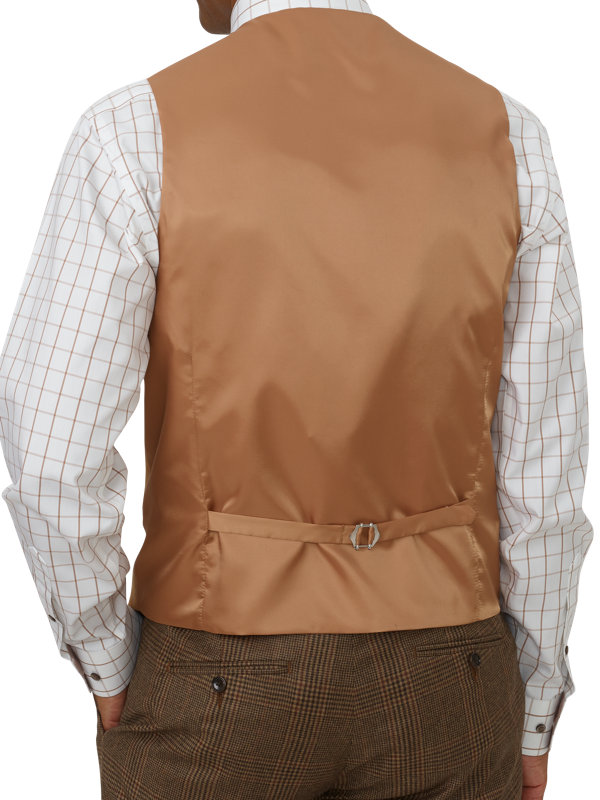 Classic Fit Wool Flannel Vest