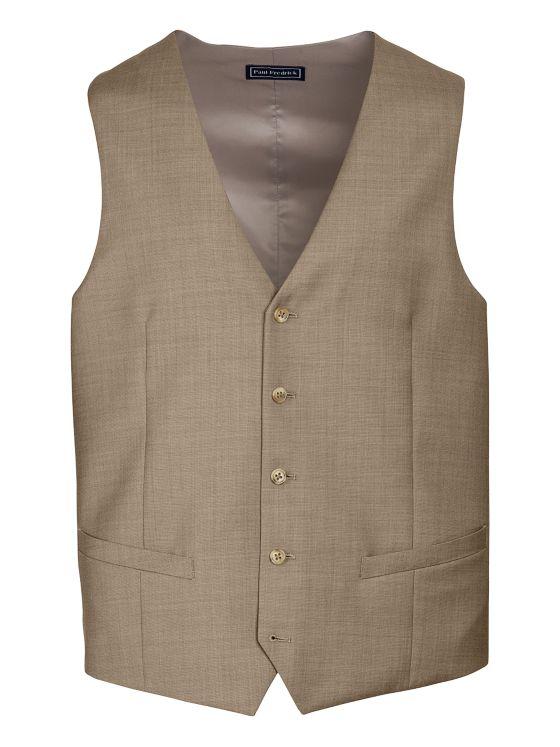 Super 120's Sharkskin Suit Vest
