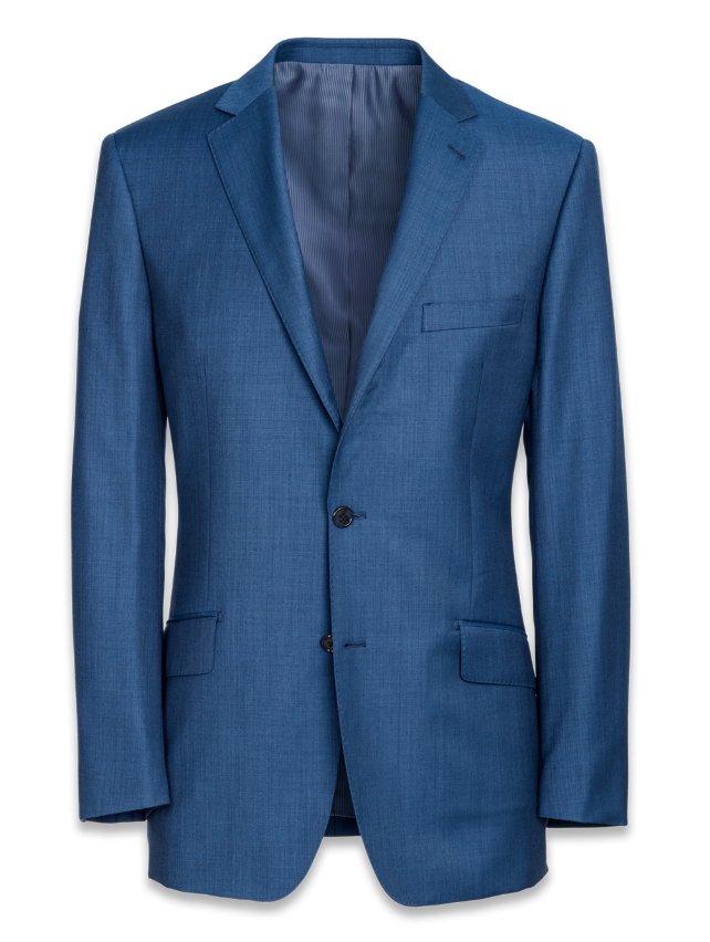 Super 120's Sharkskin Suit Jacket