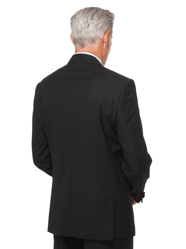 Wool Black Diamond Tuxedo Jacket