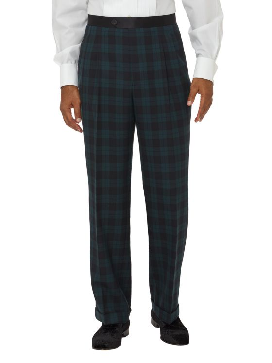 Super 100's Tuxedo Pant