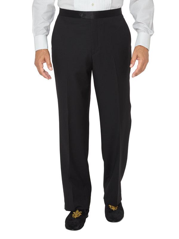 Flat Front Tuxedo Pant